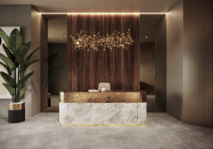Дизайн интерьера бизнес центра в Киеве. Alta Idea Design Studio