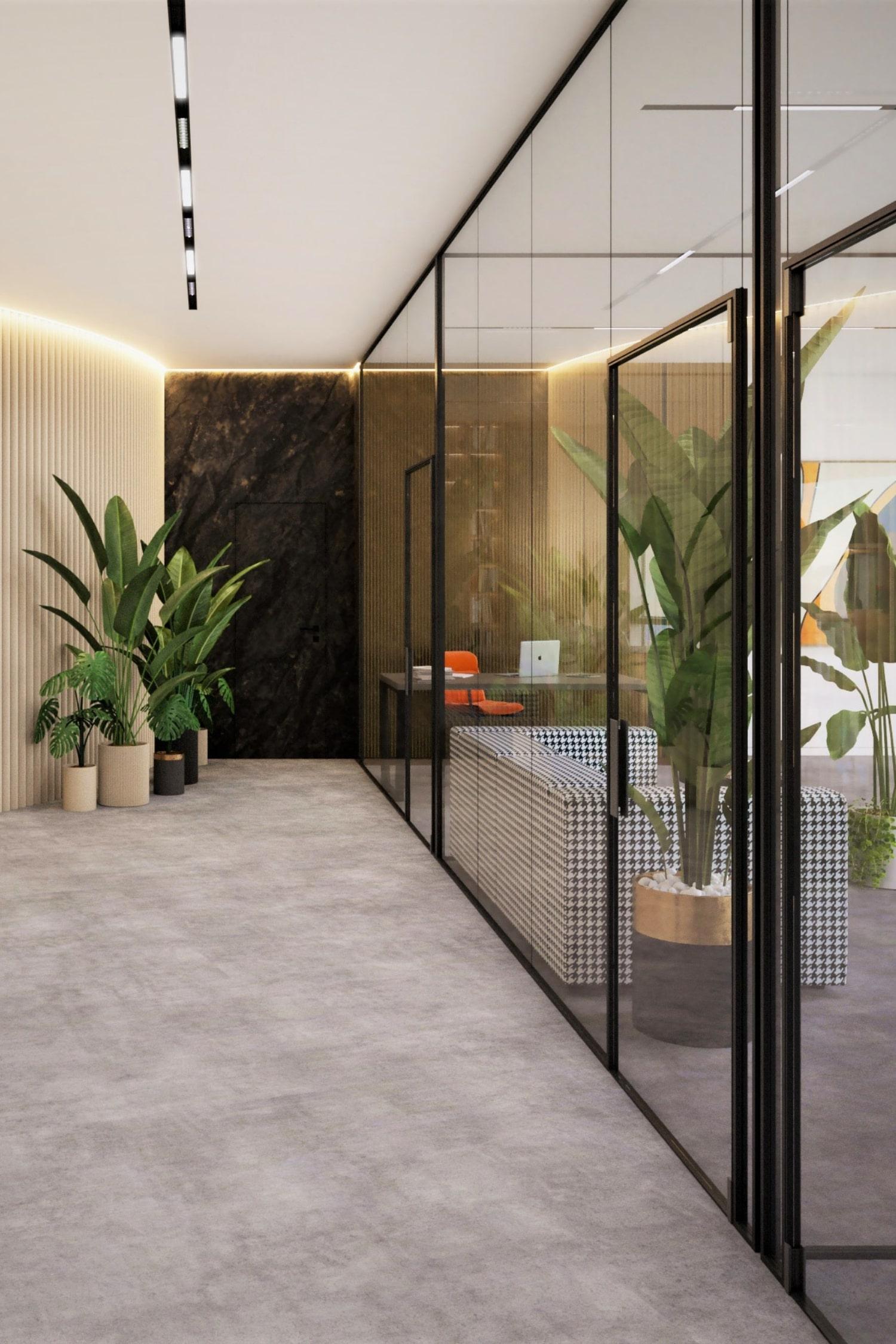 Проект дизайна интерьера бизнес-центра в Киеве
