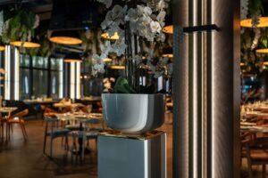 Shef Terrace. Дизайн интерьера террасы ресторана в Киеве. Студия дизайна интерьера Alta Idea Interior Design, Киев 14