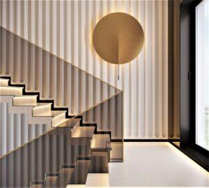Villa N. Дизайн частный дом, Киев. Alta Idea Design Studio