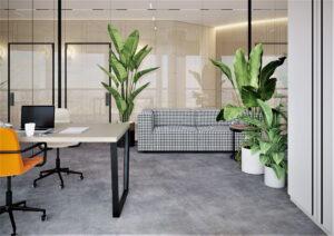 Проект дизайна интерьера бизнес-центра в Киеве. М17_10