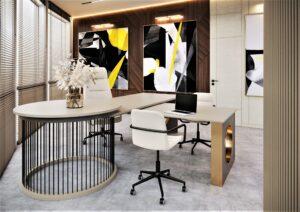 Проект дизайна интерьера бизнес-центра в Киеве. М17_11