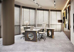 Проект дизайна интерьера бизнес-центра в Киеве. М17_12