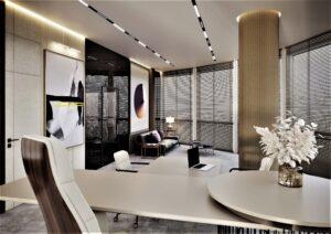 Проект дизайна интерьера бизнес-центра в Киеве. М17_15