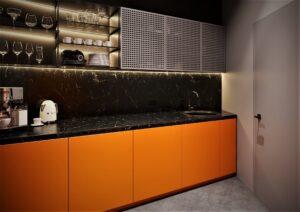 Проект дизайна интерьера бизнес-центра в Киеве. М17_16