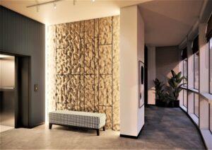 Проект дизайна интерьера бизнес-центра в Киеве. М17_19