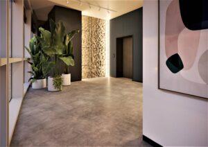 Проект дизайна интерьера бизнес-центра в Киеве. М17_20