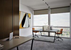 Проект дизайна интерьера бизнес-центра в Киеве. М17_3