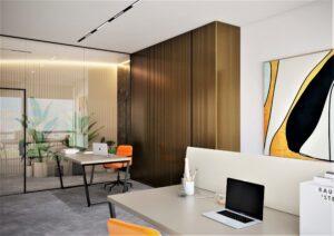 Проект дизайна интерьера бизнес-центра в Киеве. М17_8