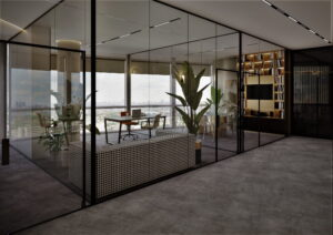 Проект дизайна интерьера бизнес-центра в Киеве. М17_9
